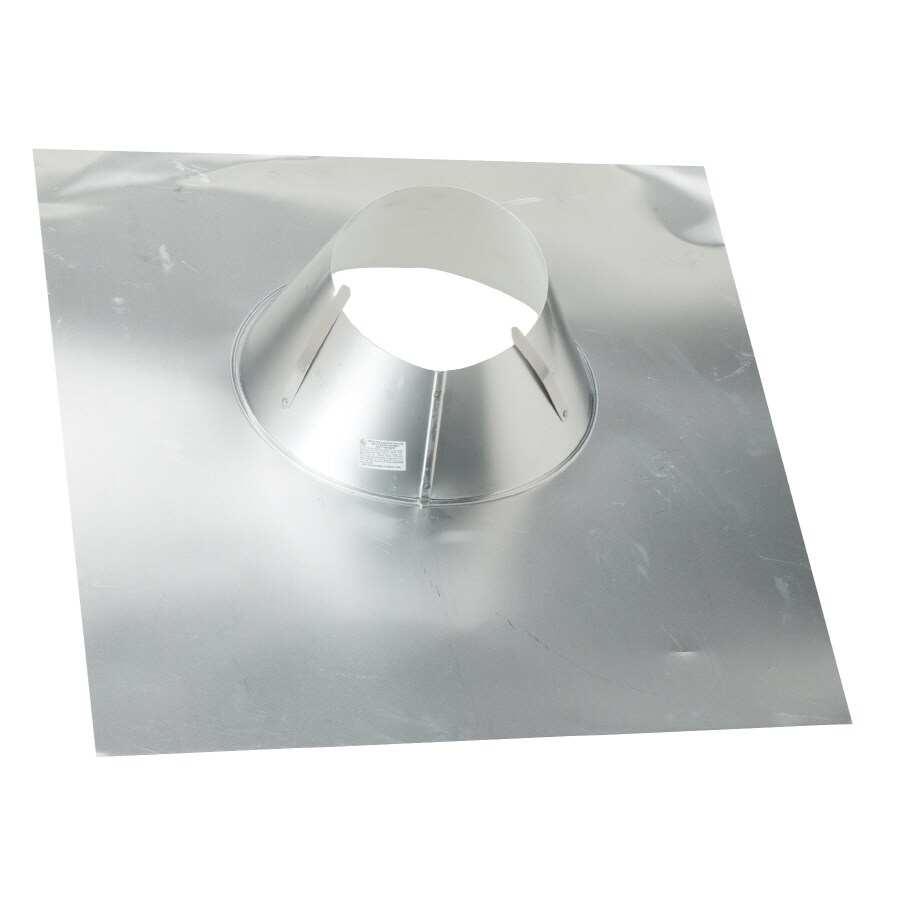 CMI 4-in x 0.75-in Aluminum Vent and Pipe Flashing