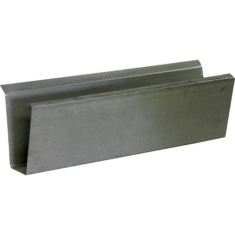 Construction Metals Inc. 4-in x 192-in Designer Profile Gutter