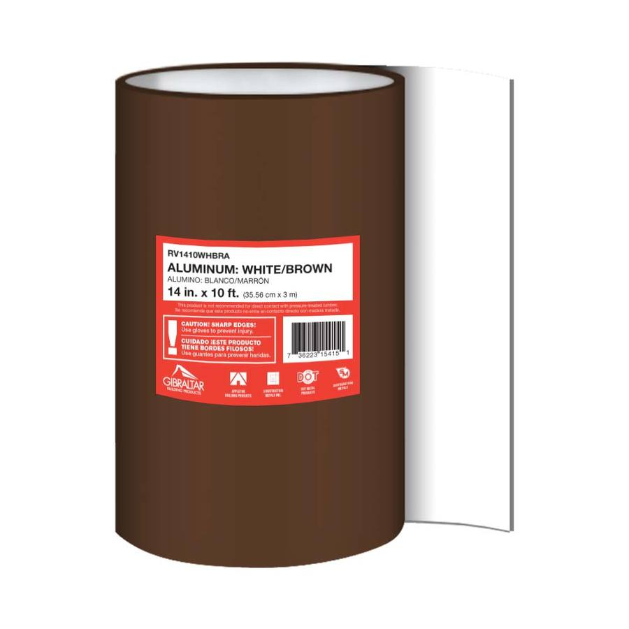 Construction Metals Inc. 5-in x 5-ft Aluminum Roll Flashing