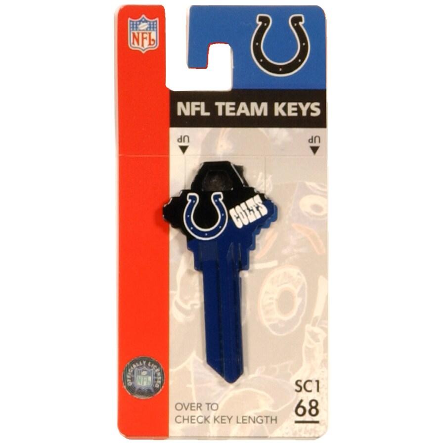 Fanatix #68 NFL Indianapolis Colts Key Blank