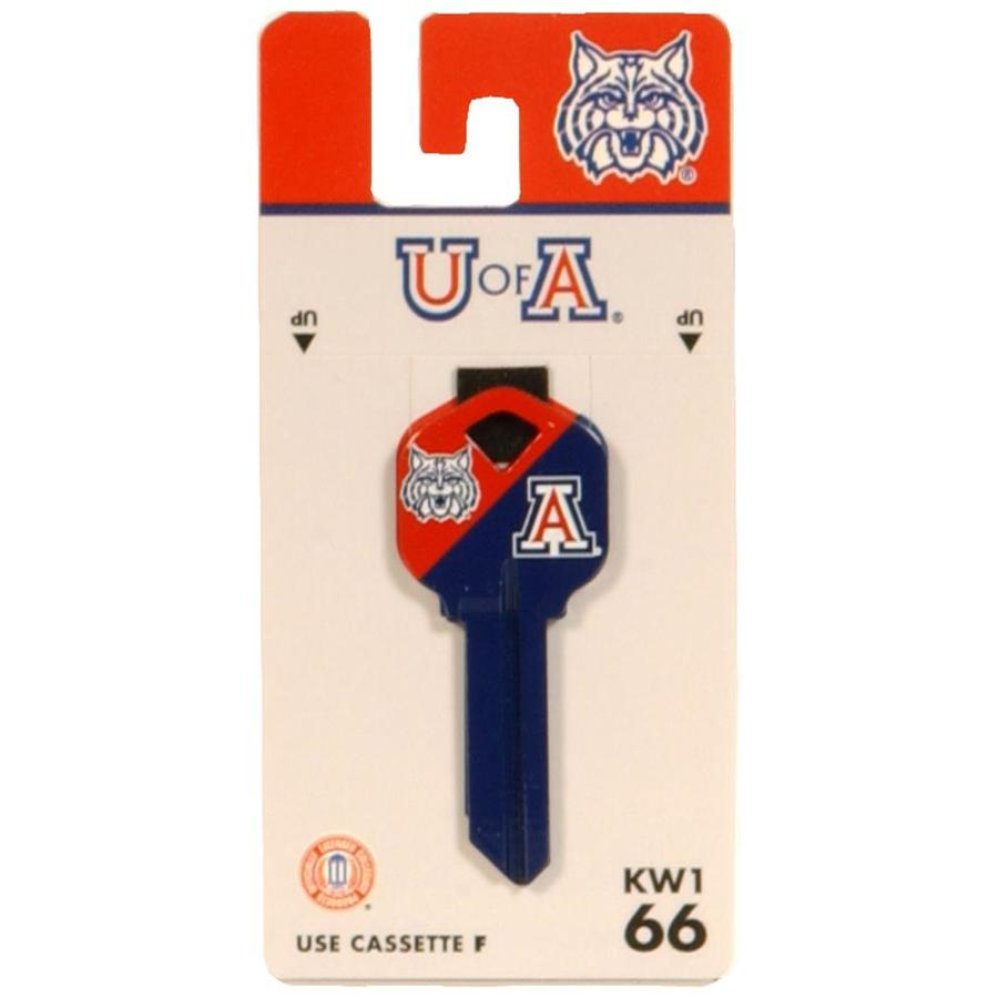 Fanatix #66 University of Arizona Wildcats House/Entry Key Blank
