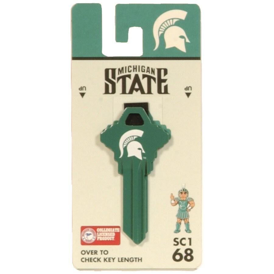 Fanatix #68 Michigan State Spartans Key Blank
