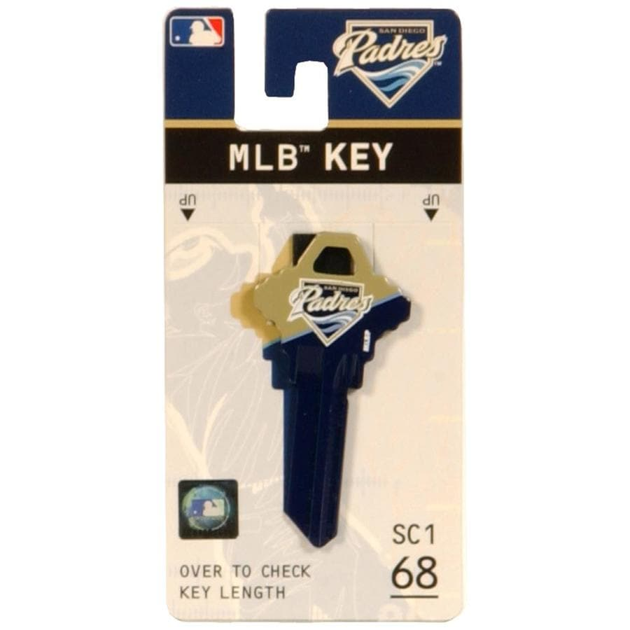 The Hillman Group #68 MLB San Diego Padres Key Blank