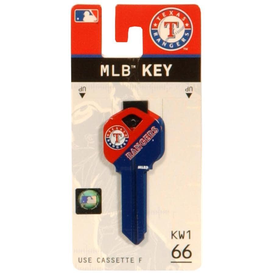 The Hillman Group #66 MLB Texas Rangers Key Blank