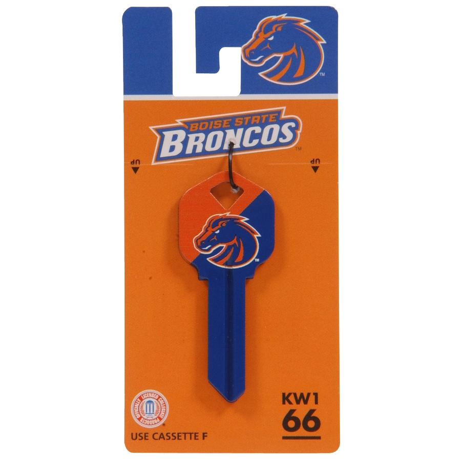 The Hillman Group #66 NCAA Boise State Broncos Key Blank
