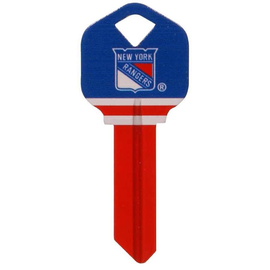 The Hillman Group #66 NHL NY Rangers Key Blank