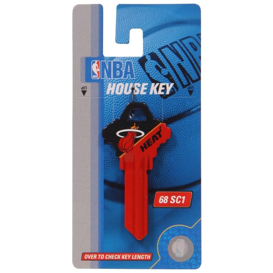 The Hillman Group #68 NBA Miami Heat Key Blank