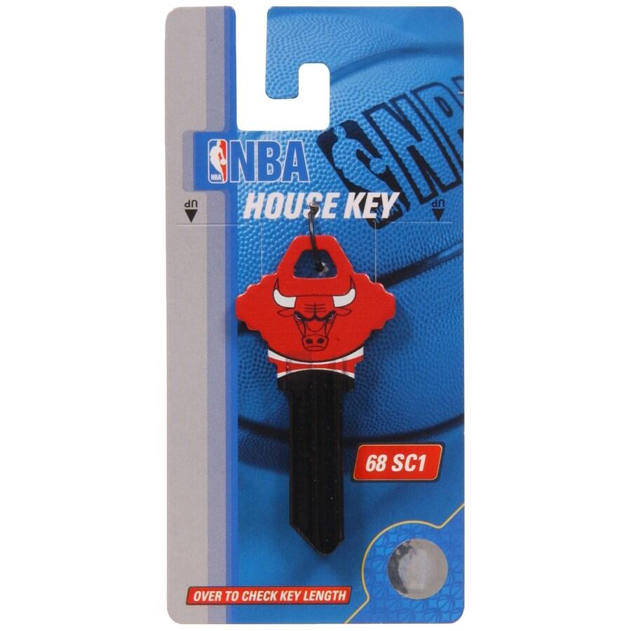 The Hillman Group #68 NBA Chicago Bulls Key Blank
