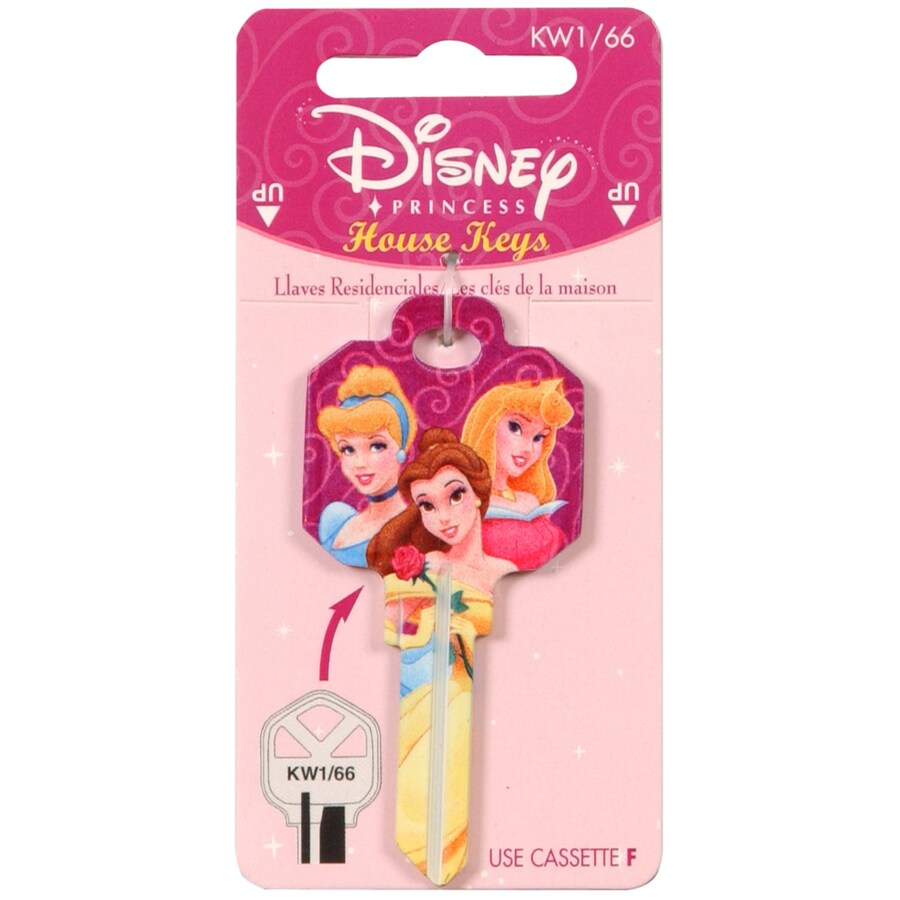 The Hillman Group #66 Disney Princess House/Entry Key Blank