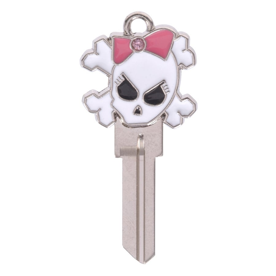 The Hillman Group #66 Wackey 3D Skull House/Entry Key Blank