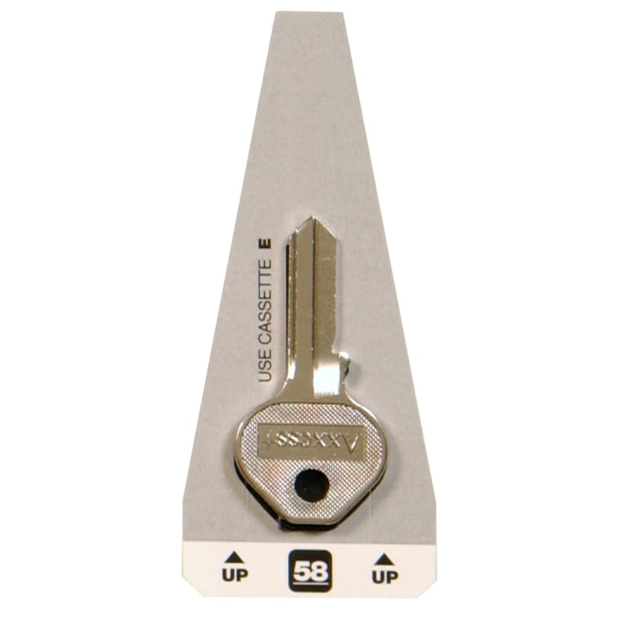 The Hillman Group #58 Masters Padlock Key Blank