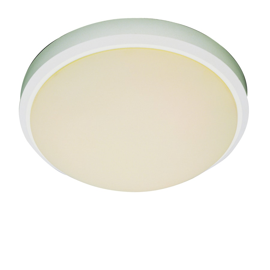 Bel Air Lighting 15-in W White Ceiling Flush Mount