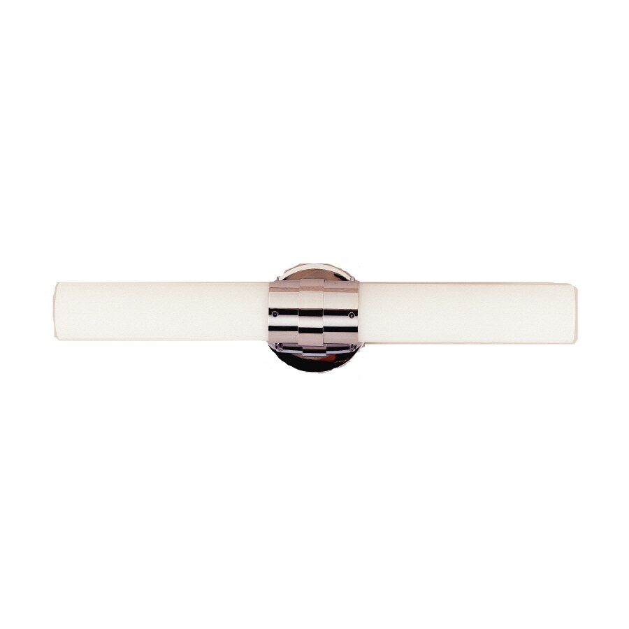 Bel Air Lighting 2-Light Polished Chrome Bathroom Vanity Light