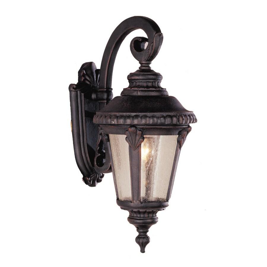 Bel Air Lighting 19-in H Rust Outdoor Wall Light