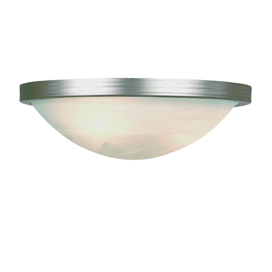Bel Air Lighting 15-in W 1-Light Brushed Nickel Pocket Hardwired Wall Sconce