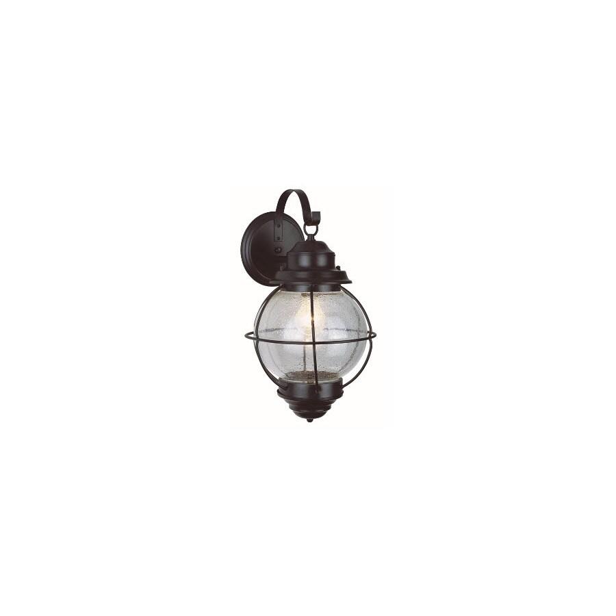 Bel Air Lighting 15-in H Black Outdoor Wall Light