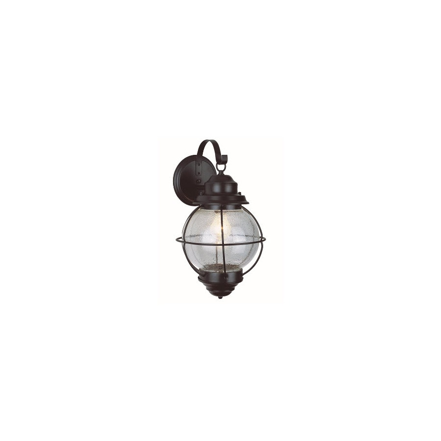 Bel Air Lighting 19-in H Black Outdoor Wall Light