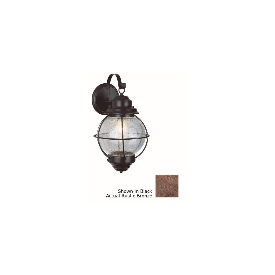 Bel Air Lighting 19-in H Oil-Rubbed Bronze Outdoor Wall Light