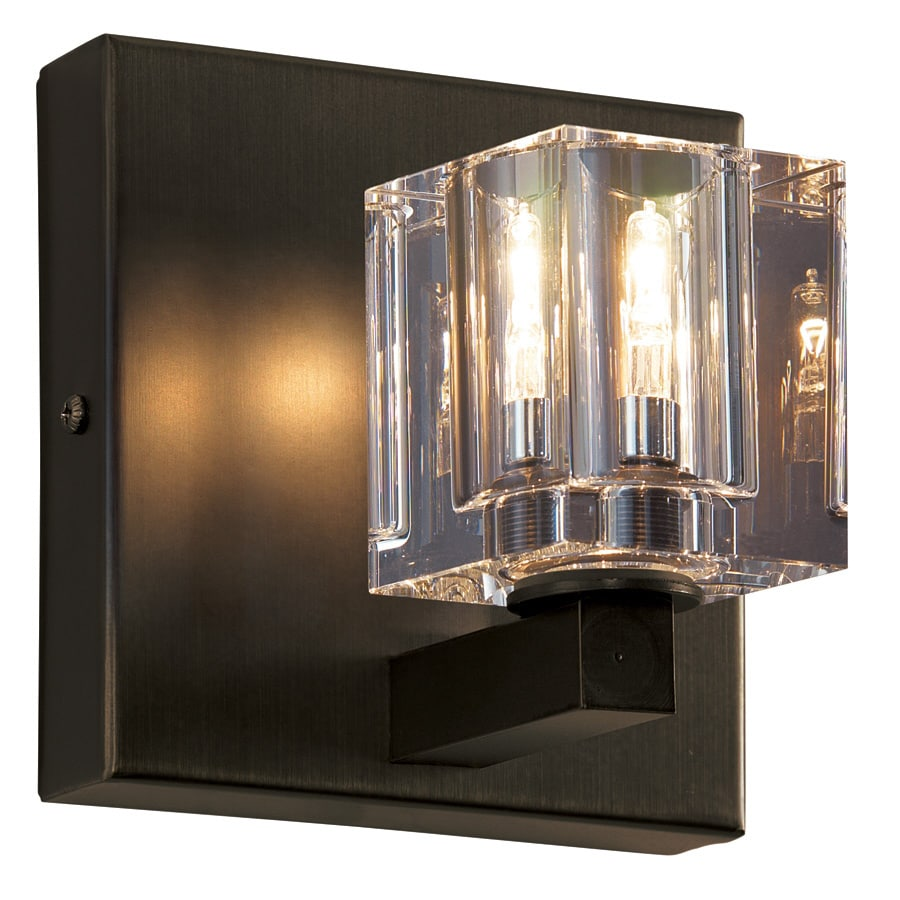 Portfolio 5-in W 1-Light Pocket Wall Sconce