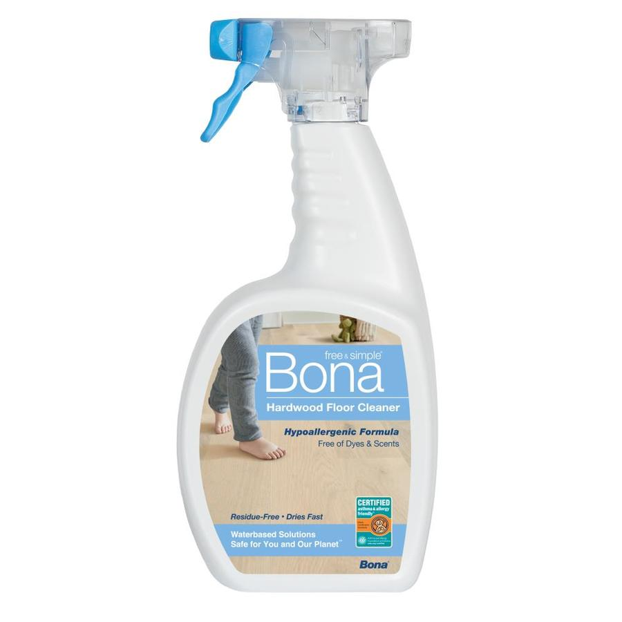 Shop bona free simple 32 fl oz hardwood floor cleaner at for Bona floor cleaner