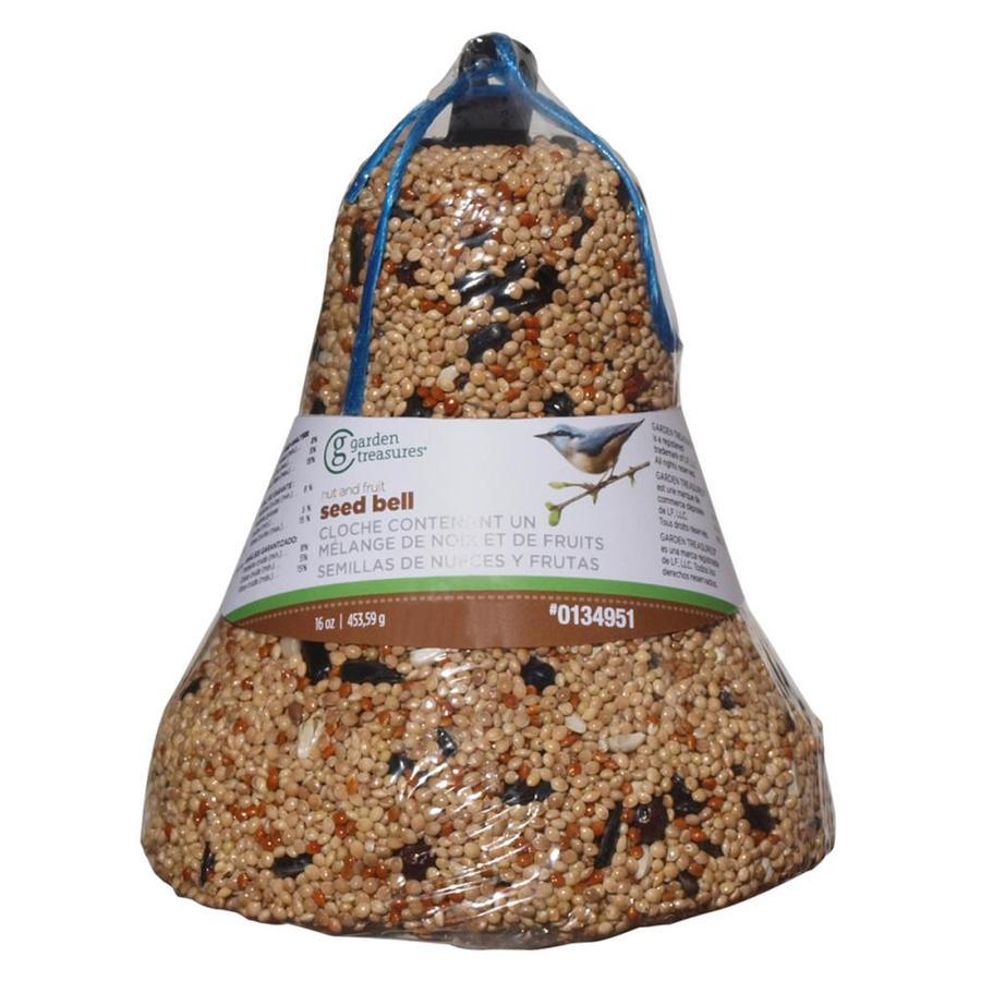 Garden Treasures 1-lb Bird Seed Bell (Nut and Fruit)