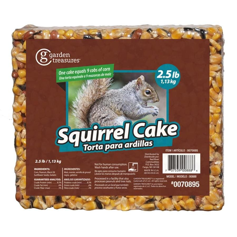 Garden Treasures Critter Food 2.5-lb Squirrel Corn and Seed Cake