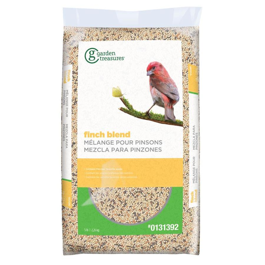 Garden Treasures Finch 5-lb Bird Seed Bag (Thistle Seed)