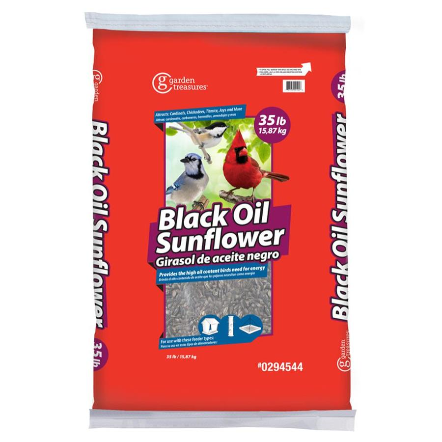 Garden Treasures 35-lb Bird Seed Bag (Black Oil Sunflower)