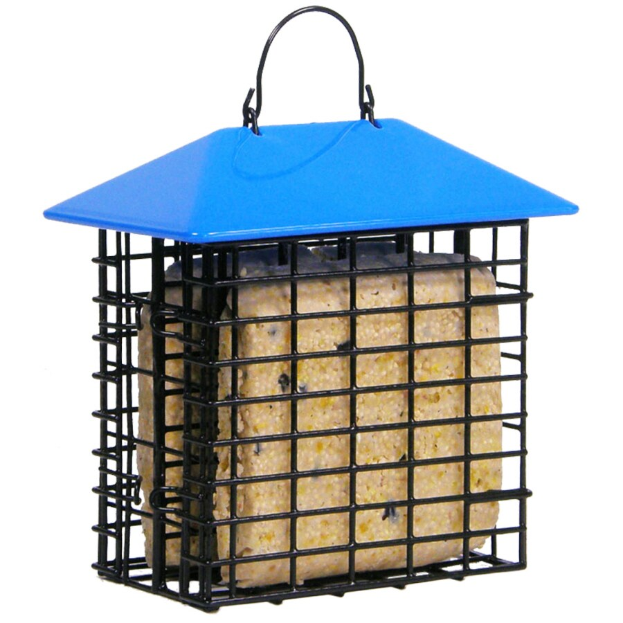 Garden Treasures Black Two-Cake Plastic Suet Feeder