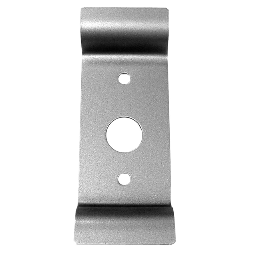 TELL MANUFACTURING, INC. 3-in x 8-in Aluminum Entry Door Pull Plate