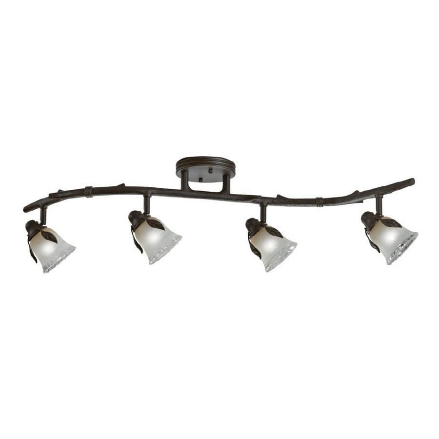shop portfolio branches 4 light painted olde bronze. Black Bedroom Furniture Sets. Home Design Ideas