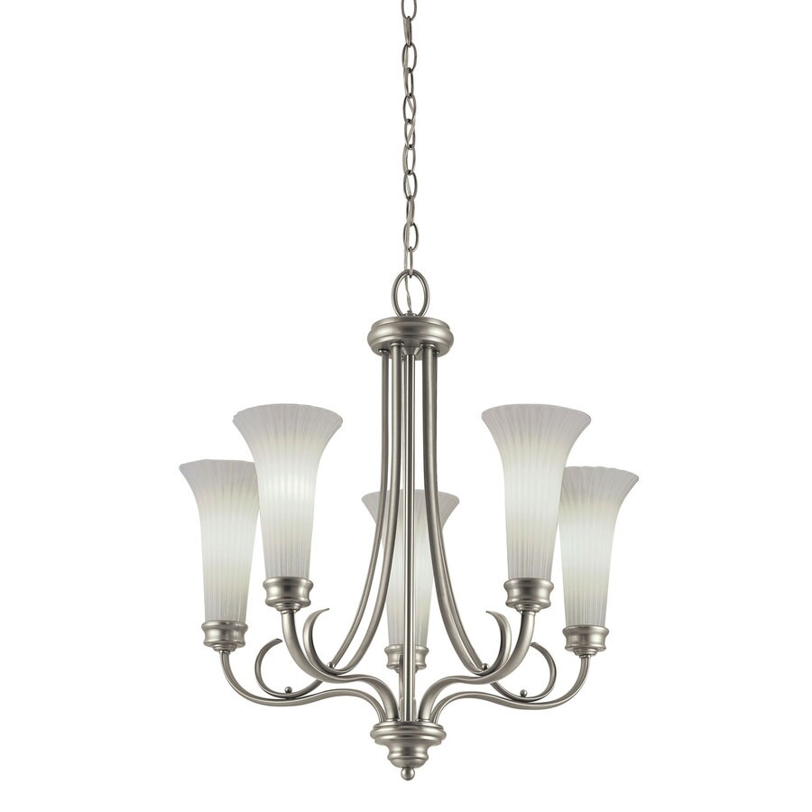 Portfolio 5-Light Antique Pewter Chandelier