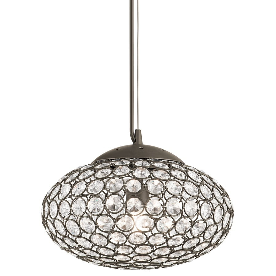 Shop Kichler Lighting Krystal Ice 9.65-in Olde Bronze ...