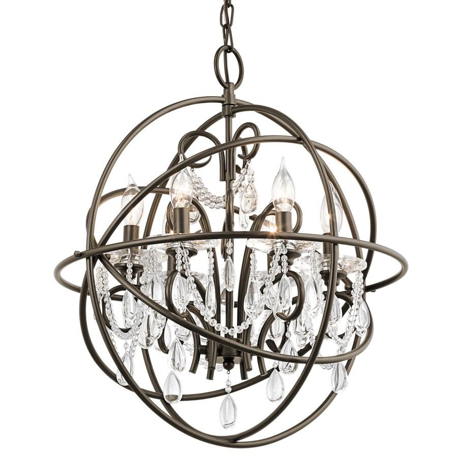 Crystal Globe Chandelier Lighting