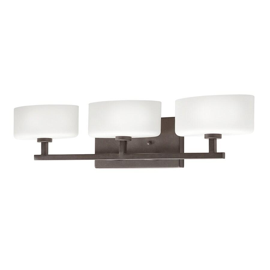 Kichler Lighting Aiden 3-Light Tannery Bronze Oval Vanity Light