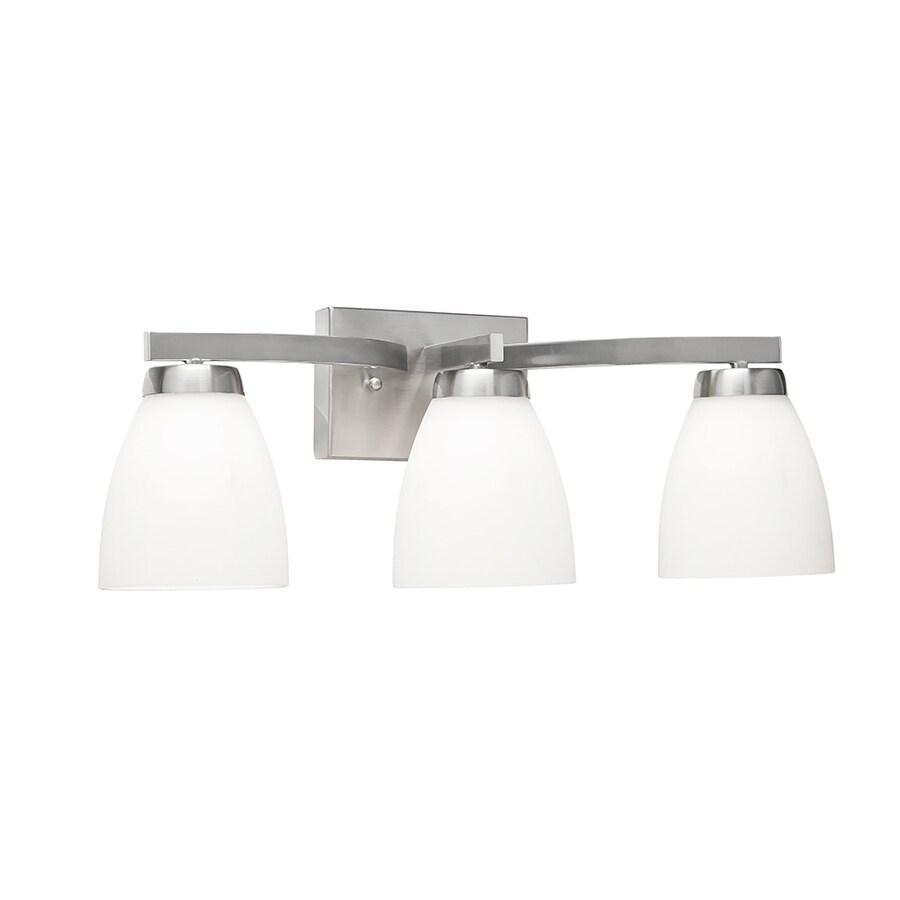 Kichler Lighting 3-Light Satin Nickel Cone Vanity Light