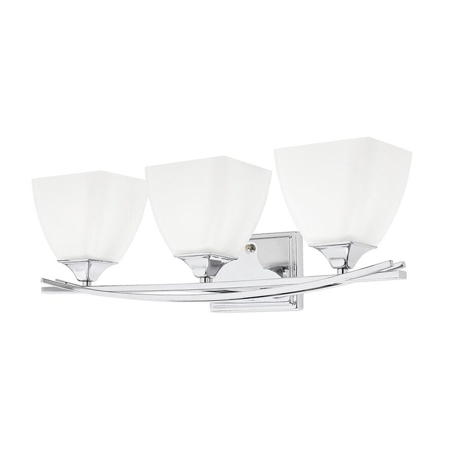 Kichler Lighting 3-Light Chrome Rectangle Vanity Light