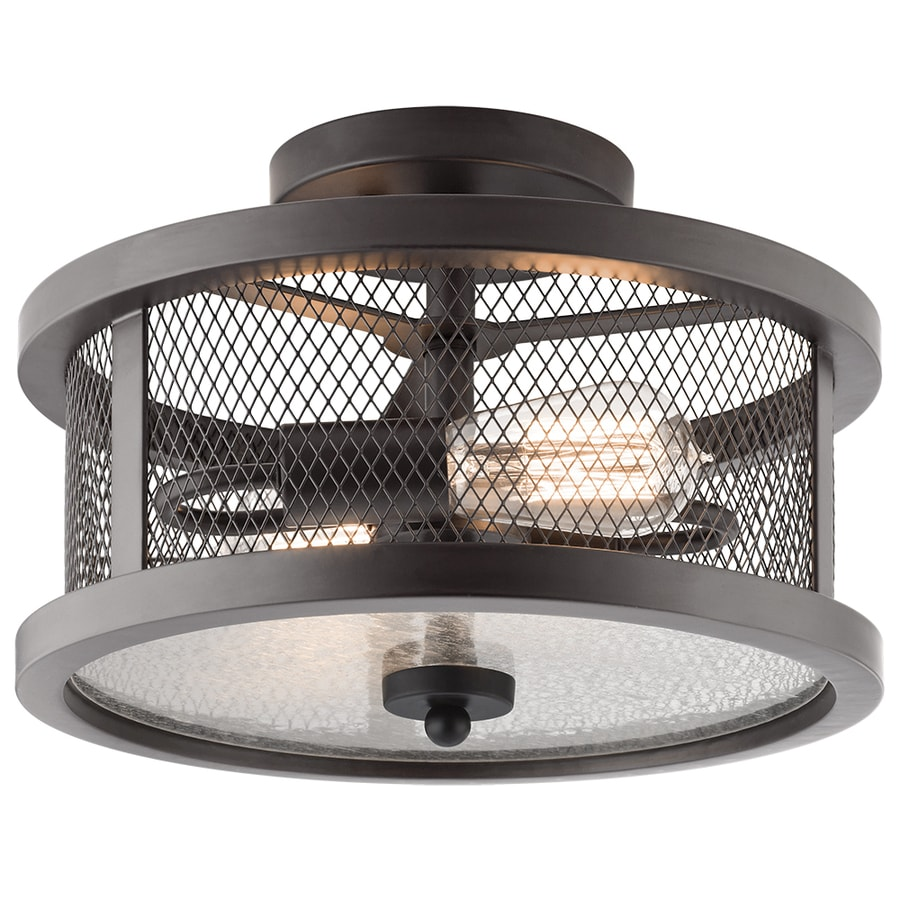 lighting saybridge w bronze metal semi flush mount light