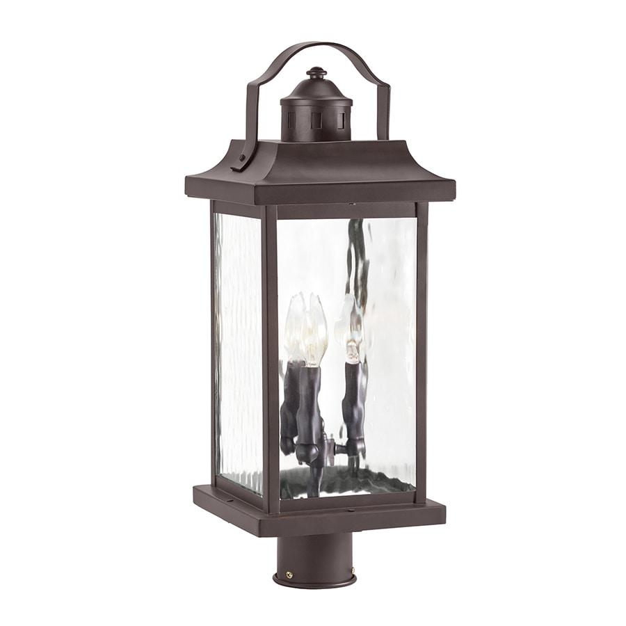 Kichler Lighting Linford 22.13-in H Olde Bronze Post Light