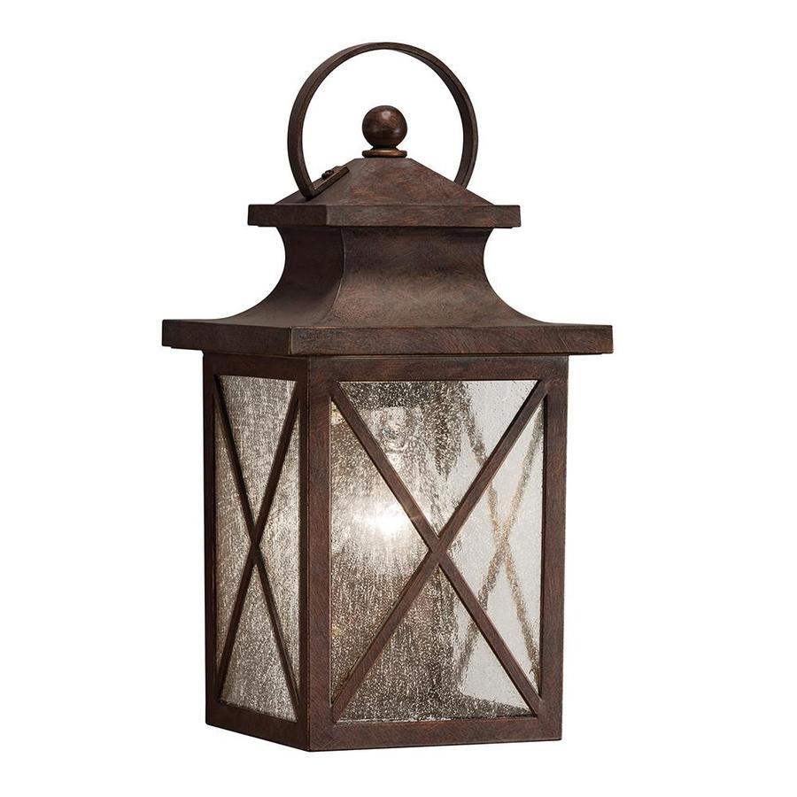 Kichler Lighting Haven 12.99-in H Olde Brick Outdoor Wall Light