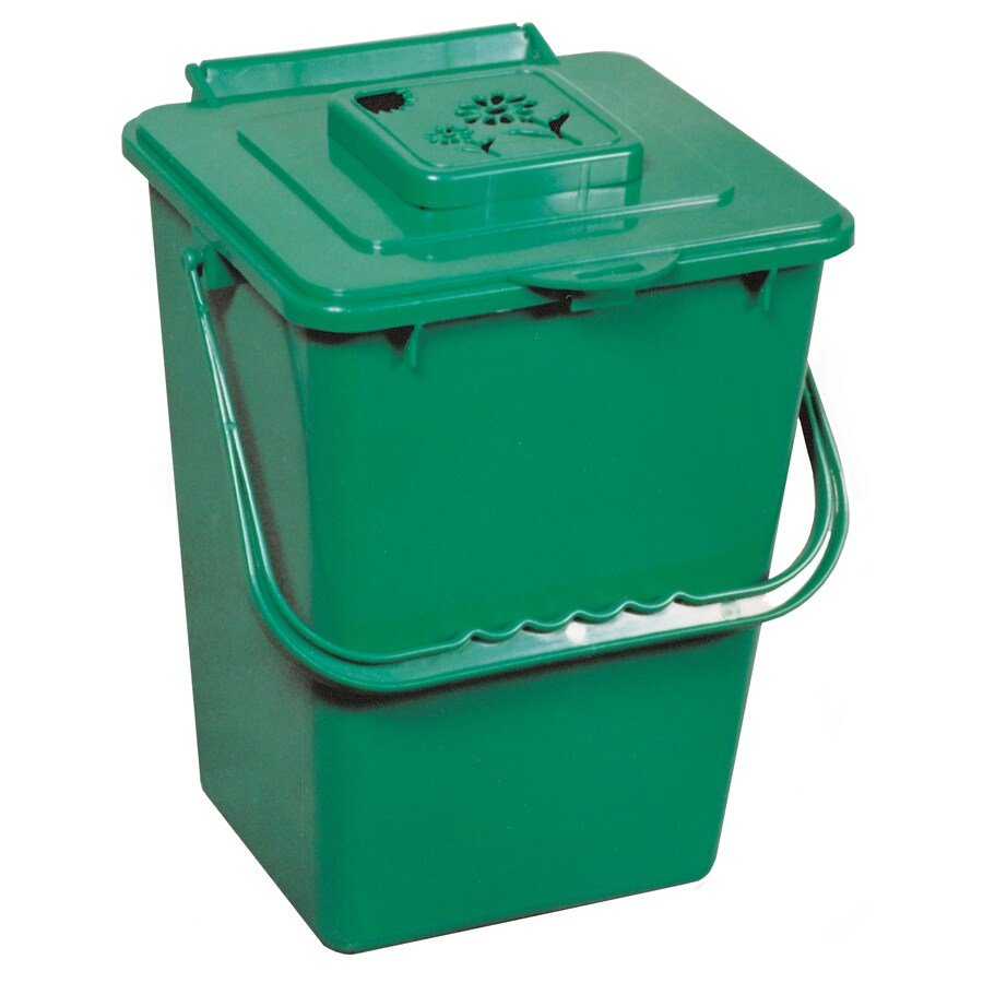 Exaco 0.26-cu ft Plastic Stationary Bin Composter