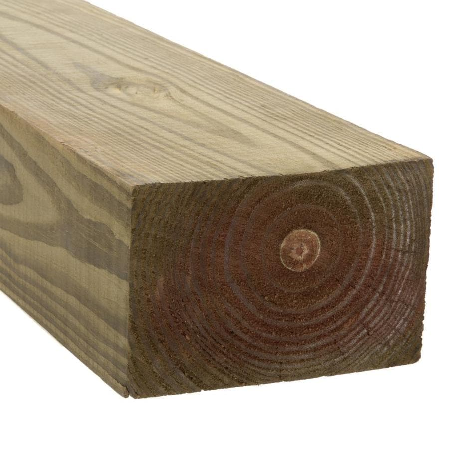 Severe Weather Pressure Treated (Common: 4-in x 6-in x 14-ft; Actual: 3.5-in x 5.5-in x 14-ft) Lumber