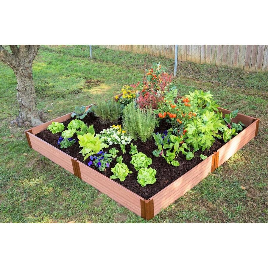 Frame It All Raised Garden Bed Lowes