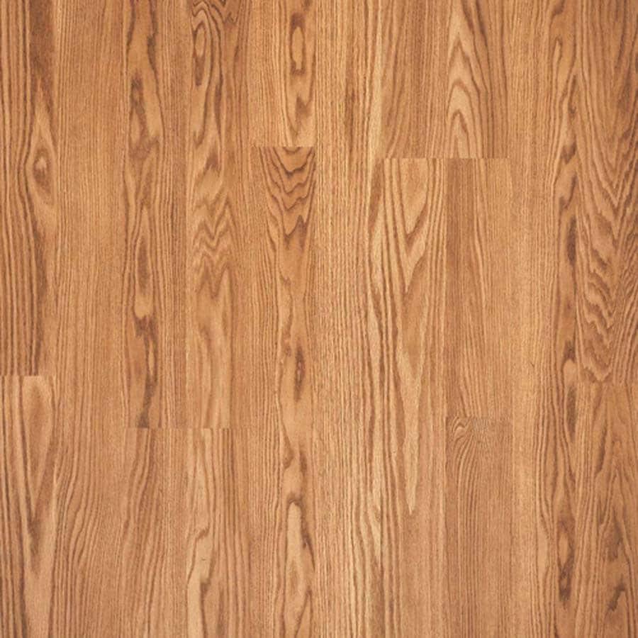 Pergo MAX 7.61-in W x 3.96-ft L Austin Oak Embossed Laminate Wood Planks