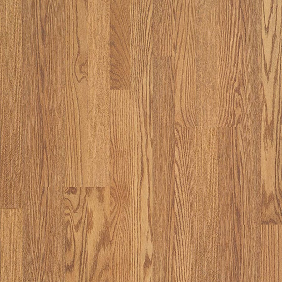 Pergo MAX 7.61-in W x 3.96-ft L Williamsburg Oak Wood Plank Laminate Flooring