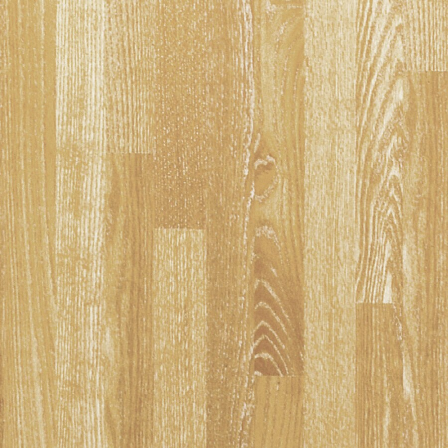 Pergo MAX 7.61-in W x 3.96-ft L Whitewashed Oak Wood Plank Laminate Flooring