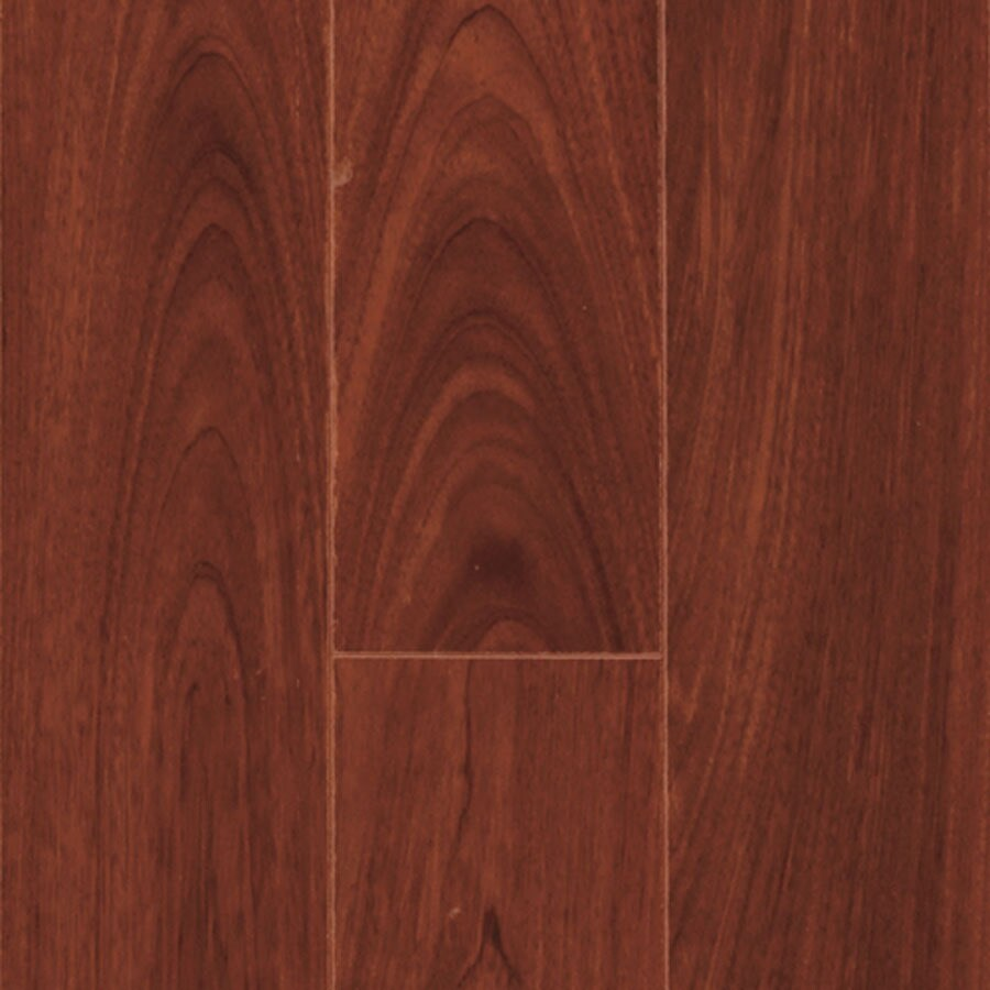 Pergo Max 4.92-in W x 3.99-ft L Mediterranean Kempas Wood Plank Laminate Flooring