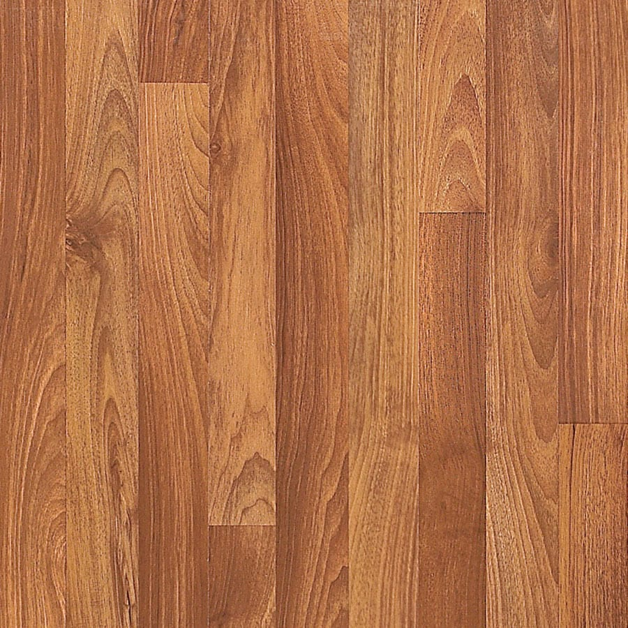 Shop pergo max w x l brighton walnut wood for Pergo laminate flooring