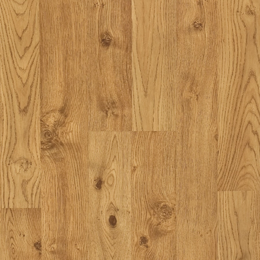 Pergo MAX 7.61-in W x 3.96-ft L Cordovan Oak Embossed Laminate Wood Planks