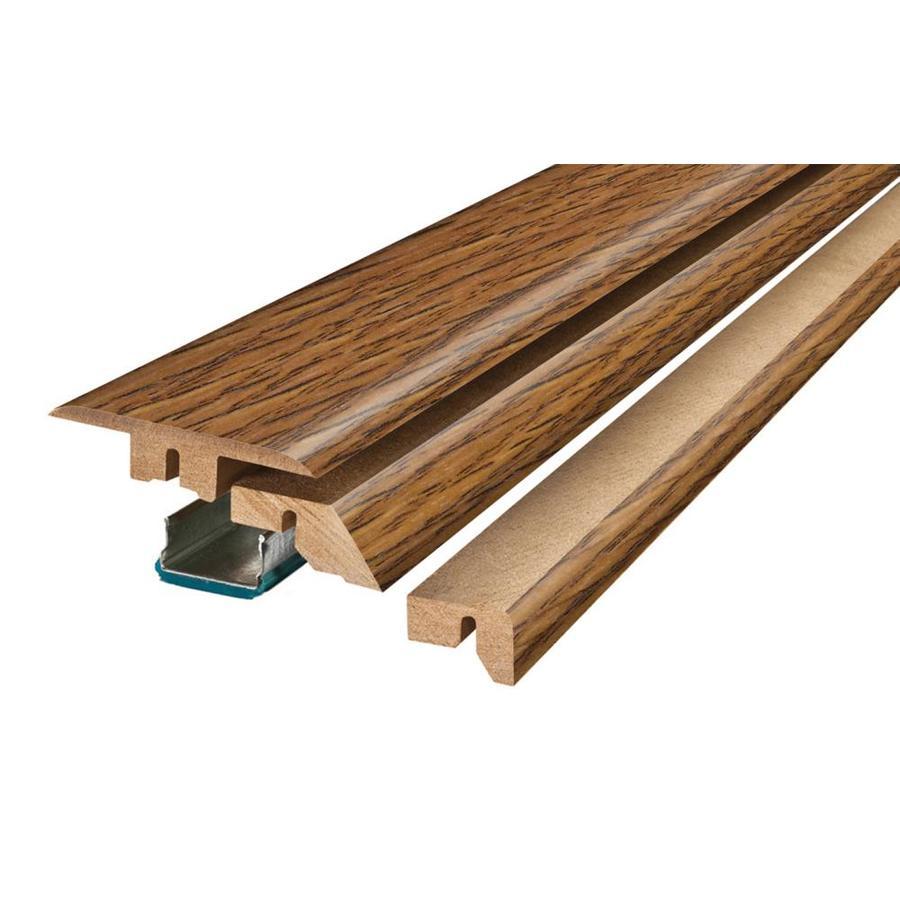 SimpleSolutions 2.37-in x 78.74-in Heritage Hickory 4-N-1 Floor Moulding